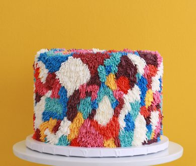 These shaggy cakes are the grooviest way to ring in an occasion