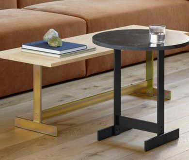 Kazimir and Lazlo tables by Philip Mainzer for e15