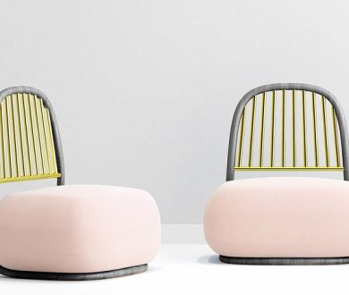 Below the Heavens Circe lounge chair by Ini Archibong for Sé