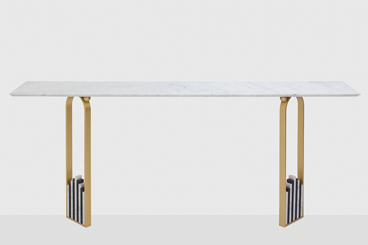 Debatable table by Ilaria Bianchi for Dimore Gallery
