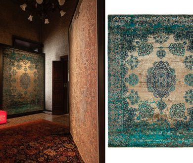 Erased Heritage rug collection from Jan Kath