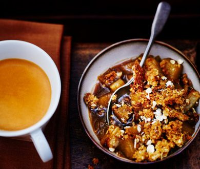 Recipe: This coffee-spiked crumble is the perfect afternoon treat
