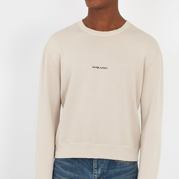 Saint Laurent crewneck sweater
