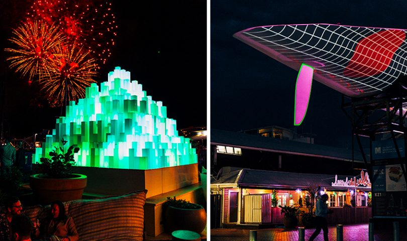 Bright Nights: Viaduct Harbour launches its inaugural lighting festival