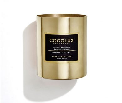 Cocolux Tropical Gardenia candle