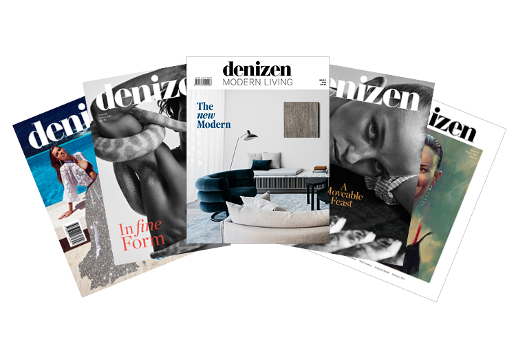 Denizen Magazine year subscription