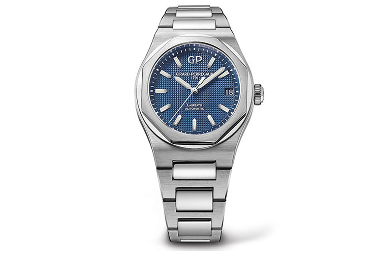 Girard Perregaux Men's Laureato Steel Automatic wristwatch