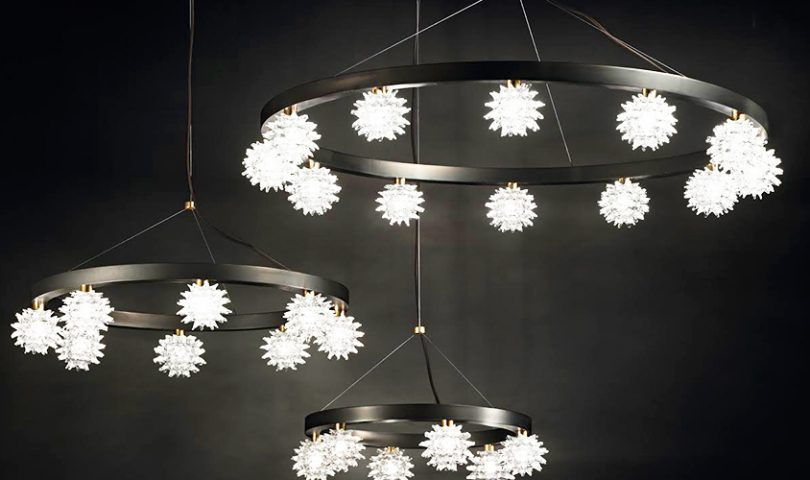 These glistening light fixtures will elevate your interior to elegant new heights