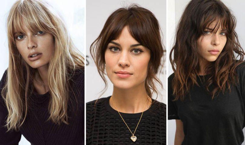 Hair trend: The return of the fringe