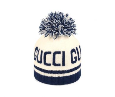 Gucci jacquard wool hat