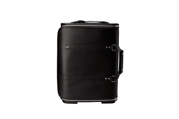 Vocier F38 Black Leather Luggage