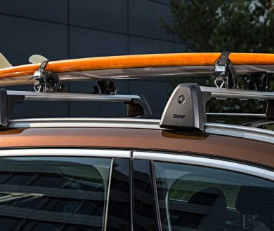 BMW surfboard holder