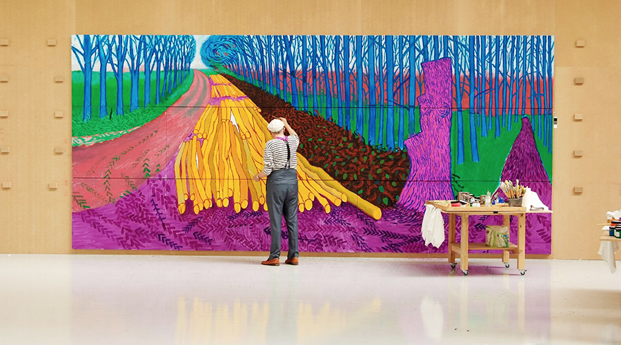 Here's why the new David Hockney film marks a new era for