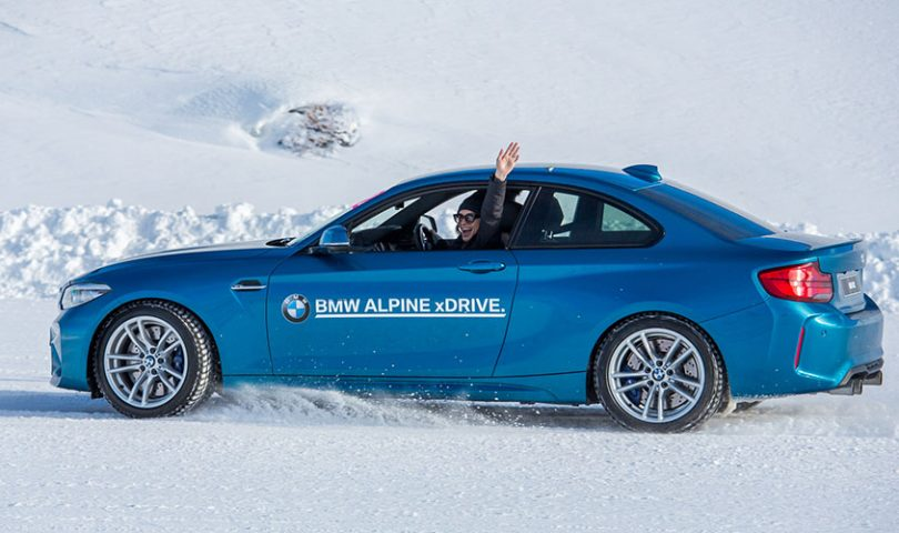 One of our Denizens puts her driving ability to the test at the BMW Alpine xDrive experience