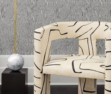 Liven up your interiors with these Kelly Wearstler textiles and wallcoverings