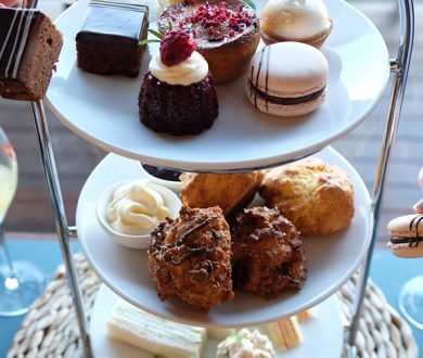 An elevated high-tea experience lands at Mission Bay Pavilion