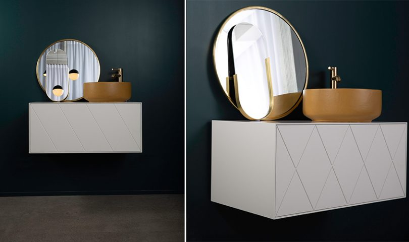 The perfect pair: this bespoke cabinetry is taking Robertson bathware to the next level