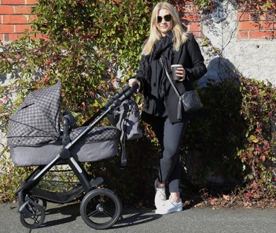What's the deal with fashion forward luxury buggies? This new mum tells us