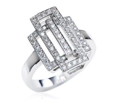 Deco Dreaming diamond ring
