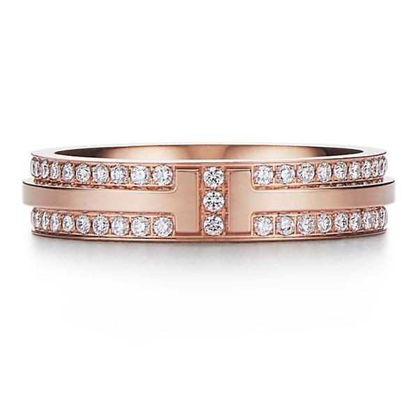 Tiffany T Two narrow ring