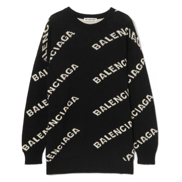 Graphic knit
