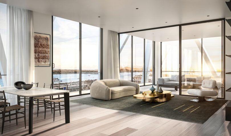 The International is promising nothing less than world-class apartment living