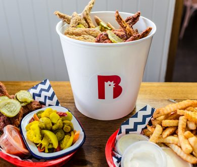Win a VIP dinner for 4 at this Estrella Damm x Belles Hot Chicken pop-up