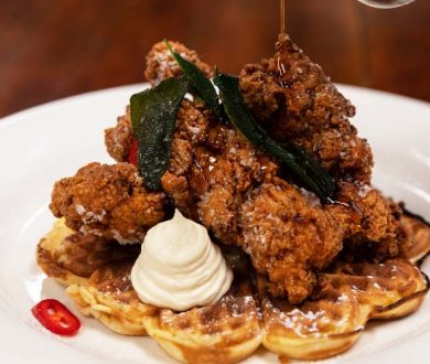 Here's where to get your bite of the chicken waffles trend