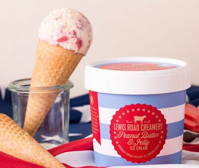 Celebrate the 4th of July with Lewis Road Creamery's limited edition new ice cream