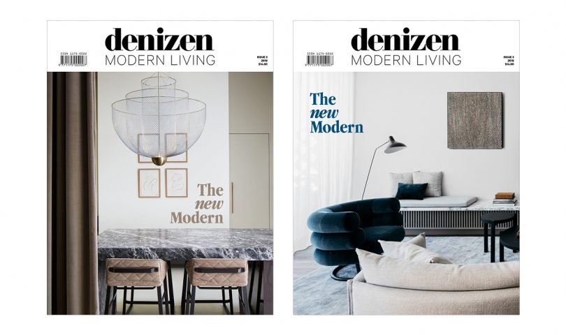 Our annual design magazine, Denizen Modern Living, is out now