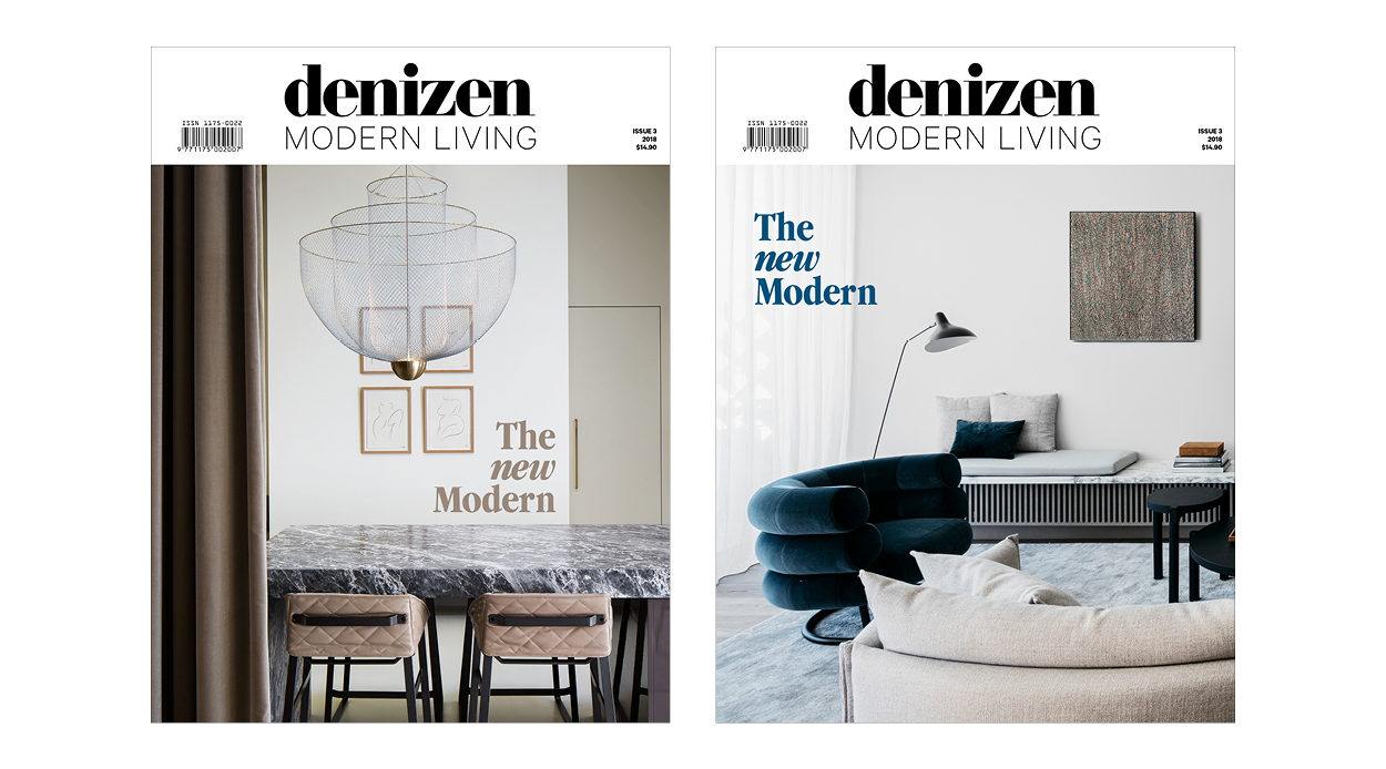 Our Annual Design Magazine Denizen Modern Living Is Out Now