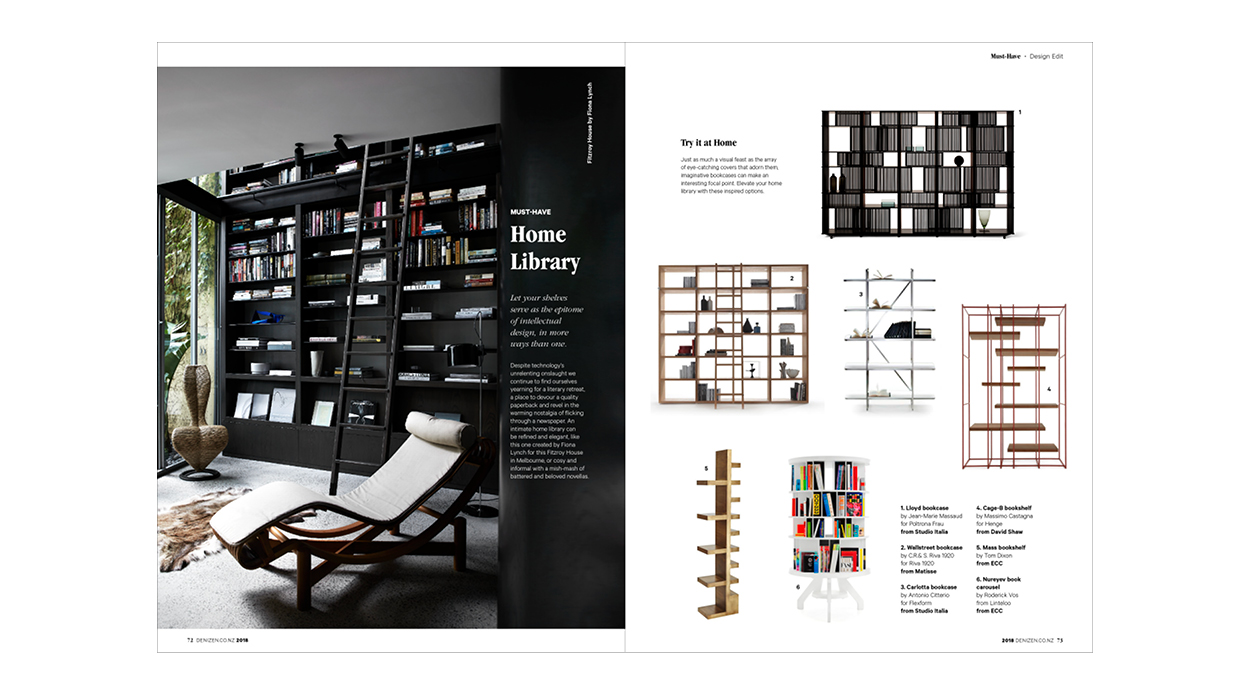 . Our annual design magazine  Denizen Modern Living  is out now