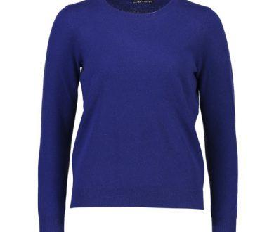 Helen Cherry crewneck cashmere sweater