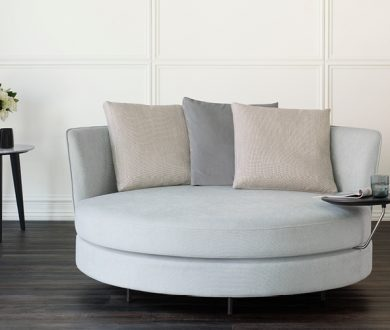 This King Living sofa is the perfect place to curl up