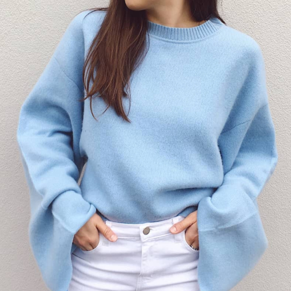 Muse cashmere cropped sweater