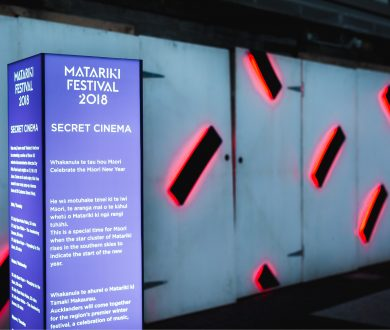 A secret cinema pops up in Viaduct Harbour for Matariki