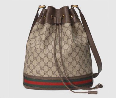 Medium shoulder bag with tiger head