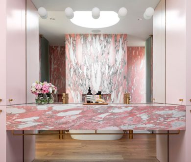 The new interior trend you need to know about: coloured marble