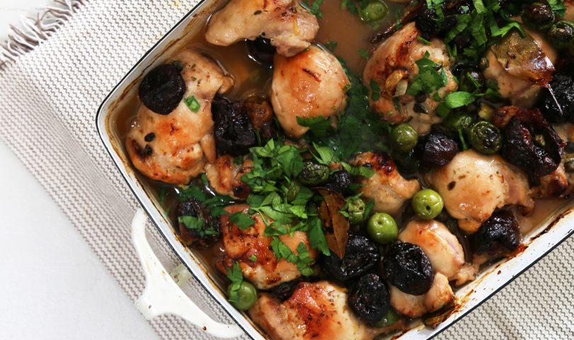 Denizen in the kitchen with F&P: Chicken Marbella