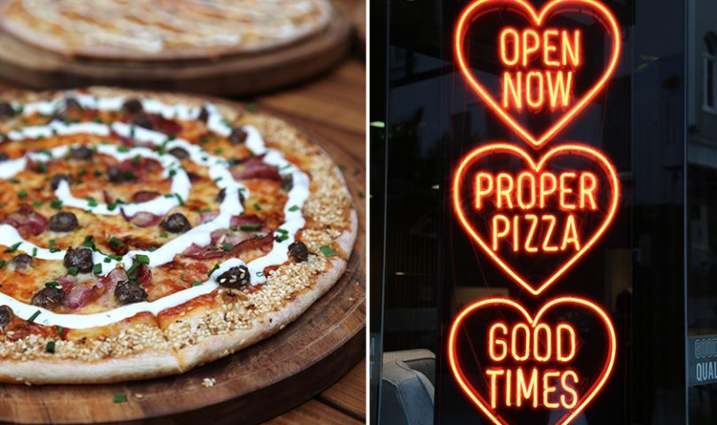 If you've been scouring Auckland to find a superb thin-crust pizza, your search stops here