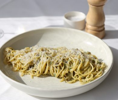Euro's new paua menu includes one of the best pasta carbonaras you'll ever try