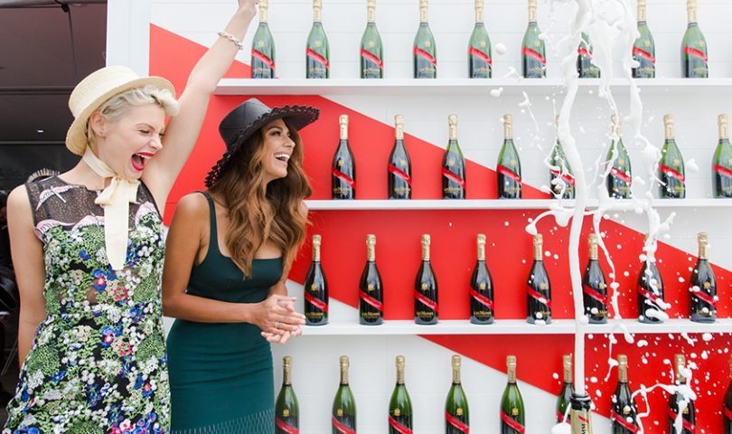How to celebrate the Melbourne Cup in Champagne Mumm style