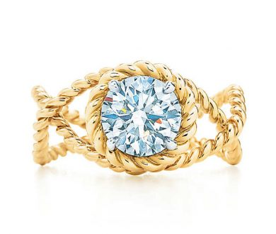 Schlumberger rope engagement ring