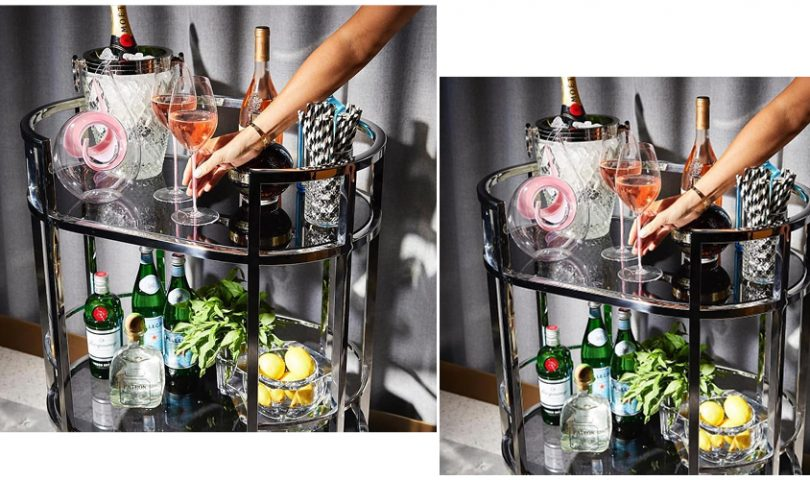 Upgrade your at-home entertaining with these six impressive bar trolleys
