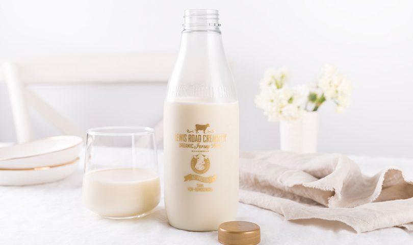 Why Lewis Road Creamery's newest milk is the crème de la crème