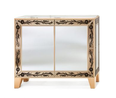 Age of Gold Cabinet by Arte Veneziana of Italy