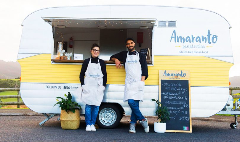 This pasta laden food truck puts a gluten free spin on traditional Italian fare