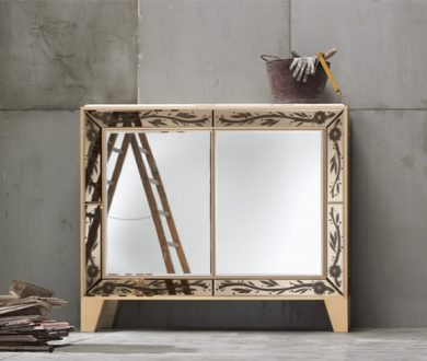 Time to reflect: 8 mirrored furnishings we're coveting right now