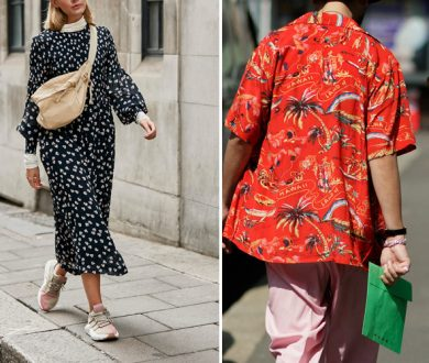 A foolproof guide to wearing power prints this season