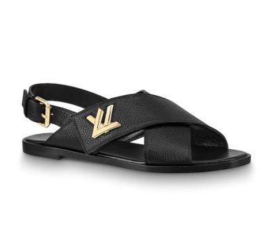 Horizon flat sandal